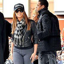 Beyonce Knowles tight jeans cameltoe