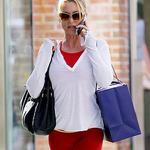 Tight pants cameltoe of Nicollette Sheridan